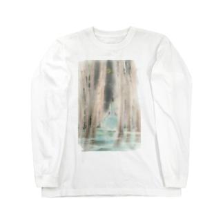 三日月の森 ロングスリーブTシャツ