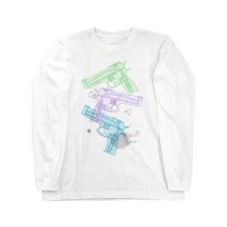 水鉄砲 ロングスリーブTシャツ