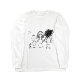 My family ロングスリーブTシャツ