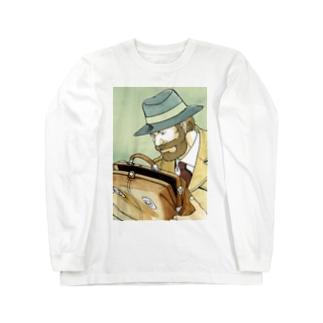 鞄図書館 ロングスリーブTシャツ