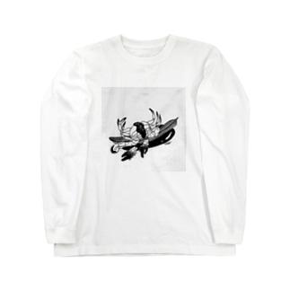 sea crub ロングスリーブTシャツ