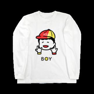 ハイスペックニートのジャイアントボーイTロングスリーブTシャツ