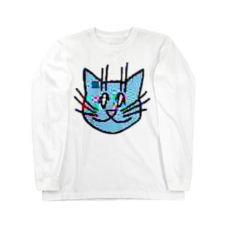 画質悪猫 L/S ロングスリーブTシャツ
