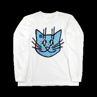 TKCH ONLINE STORAGE B1の画質悪猫 L/SロングスリーブTシャツ