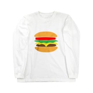 ハンバーガー ロングスリーブTシャツ