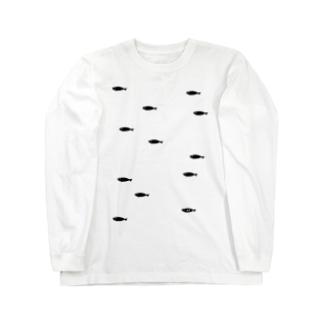 小魚 ロングスリーブTシャツ