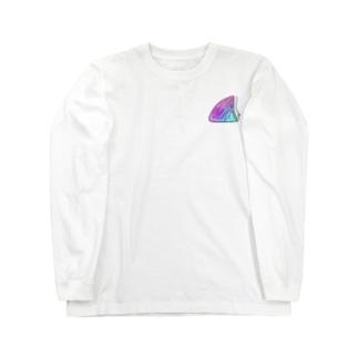 サメヒレ(SURF) ロングスリーブTシャツ