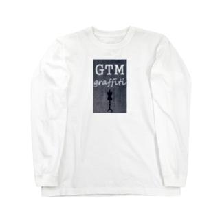 GTM graffiti ロングスリーブTシャツ