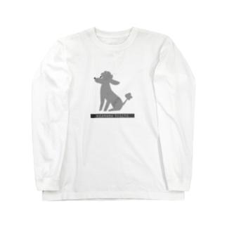 トイプードルのエダマメトイチ ロングスリーブTシャツ