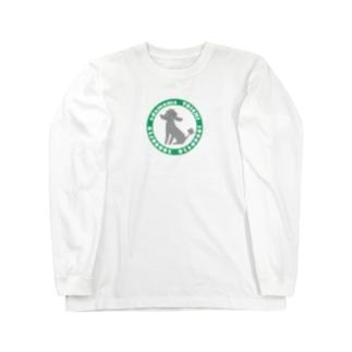 トイプードルのエダマメトイチcircle ロングスリーブTシャツ