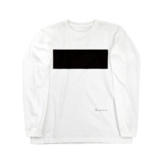 まえばり(胸ボーダー) ロングスリーブTシャツ