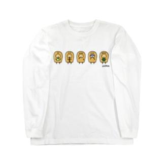 こぴっと5兄弟ロングスリーブTシャツ ロングスリーブTシャツ