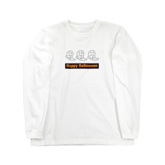 Happy Halloween ロングスリーブTシャツ