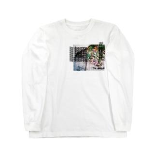 LOGO(flower) ロングスリーブTシャツ