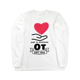 作業療法 ロングスリーブTシャツ