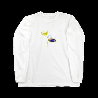 C-cubeの坊主ちゃん ロングスリーブTシャツ
