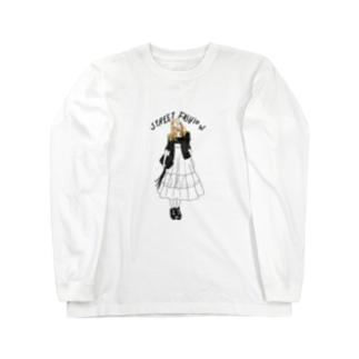 street fashion ロングスリーブTシャツ