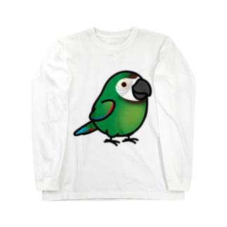 Chubby Bird コンゴウインコ ロングスリーブTシャツ