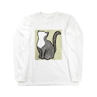bigprint ロングスリーブTシャツ