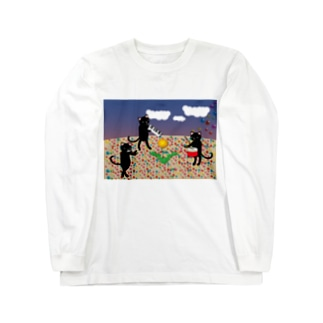 虹色の砂 ロングスリーブTシャツ