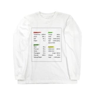英字デザイン ロングスリーブTシャツ