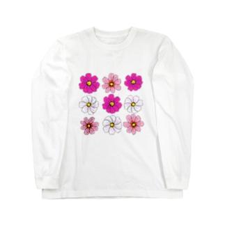 cosmos ロングスリーブTシャツ