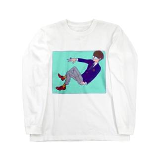 僕と一緒にいてチョ ロングスリーブTシャツ