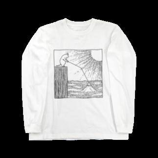 石川ともこのおや?富士が ロングスリーブTシャツ