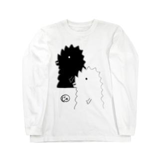 【寿梨ちゃん愛用】ふた半じゅジラ-サイズ・カラー選択可 ロングスリーブTシャツ
