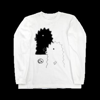 宮澤寿梨のじゅ印良品の【新商品】ふた半じゅジラ-サイズ・カラー選択可ロングスリーブTシャツ