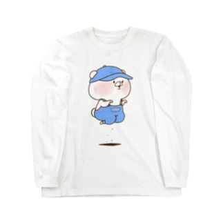 おとこのこ ロングスリーブTシャツ
