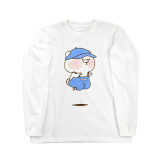さいきたむむのおとこのこロングスリーブTシャツ