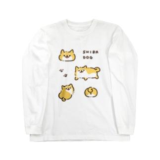 SHIBA DOG 〜しばいぬ〜 ロングスリーブTシャツ
