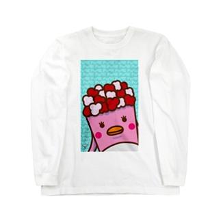 POPE-Berry- ロングスリーブTシャツ