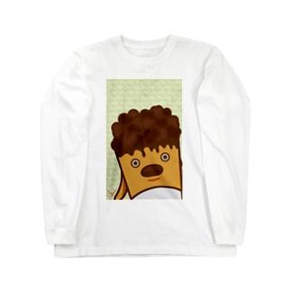 POPE-Choco- ロングスリーブTシャツ