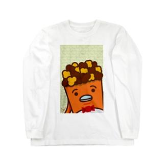 POPE-Caramel- ロングスリーブTシャツ