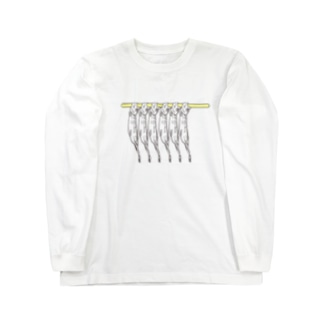 ししゃも ロングスリーブTシャツ