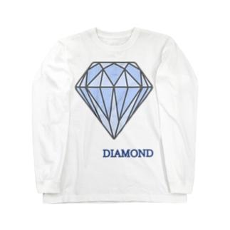 ダイヤモンド ロングスリーブTシャツ