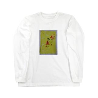 dancin' girl ロングスリーブTシャツ