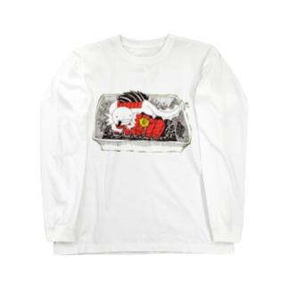 うーぱー の刺身 ロングスリーブTシャツ