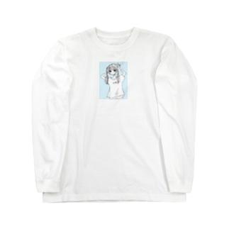 炒飯ガール ロングスリーブTシャツ