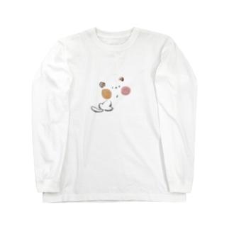 にゃー ロングスリーブTシャツ