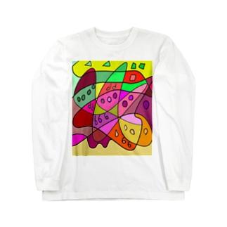 JUNSEN(純仙)立体の丘B ロングスリーブTシャツ