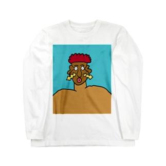 JUNSEN(純仙)フーリックB ロングスリーブTシャツ
