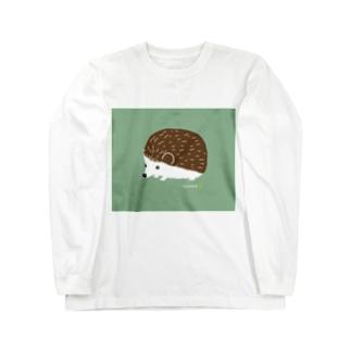 ハリネズミのチョコ ロングスリーブTシャツ