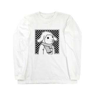 ひつじ ロングスリーブTシャツ