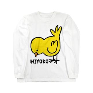 HIYOKO ロングスリーブTシャツ