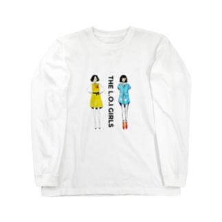 L.o.i girls ロングスリーブTシャツ