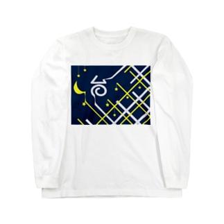 チェック ロングスリーブTシャツ