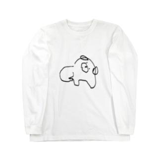 いぬ ロングスリーブTシャツ